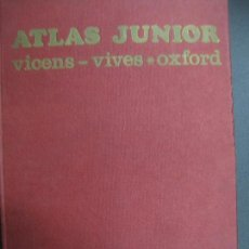 Libros de segunda mano - ATLAS JUNIOR- VICENS-VIVES / OXFORD. EDITORIAL VICENS VIVES 1ª EDICION 1969 - 70035773