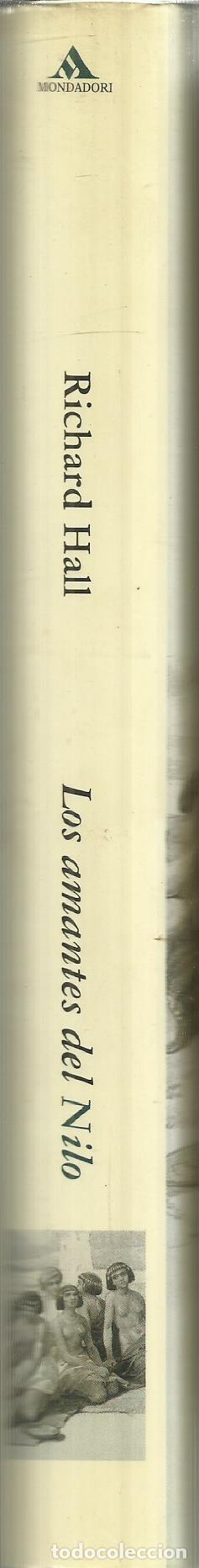 Libros de segunda mano: LOS AMANTES DEL NILO. RICHARD HALL. MONDADORI. BARCELONA. 2001 - Foto 2 - 70138765