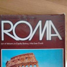 Libros de segunda mano: ROMA CON EL VATICANO,LA CAPILLA SIXTINA Y VILLA ESTE(TIVOLI) DE EDIZIONI A.G.B.DE 1973 ELIO FOX . Lote 70209765