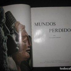 Libros de segunda mano: MUNDOS PERDIDOS. LEONARD COTTRELL. PLAZA & JANES 1964. Lote 70569465