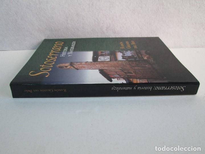 Libros de segunda mano: SOTOSERRANO: HISTORIA Y NATURALEZA. RAMON GRANDE DEL BRIO. - Foto 2 - 71052217