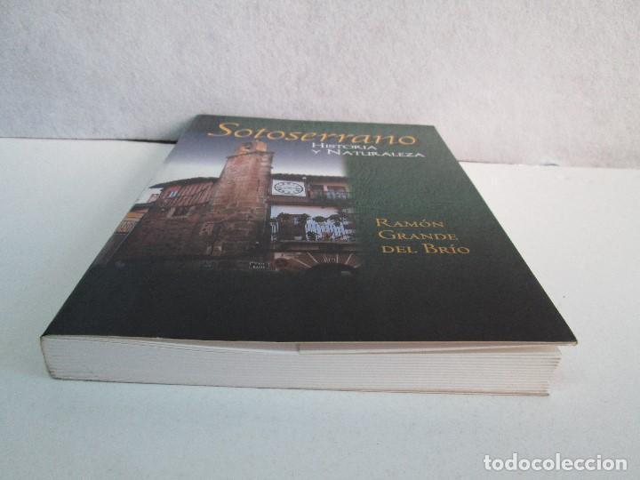 Libros de segunda mano: SOTOSERRANO: HISTORIA Y NATURALEZA. RAMON GRANDE DEL BRIO. - Foto 3 - 71052217