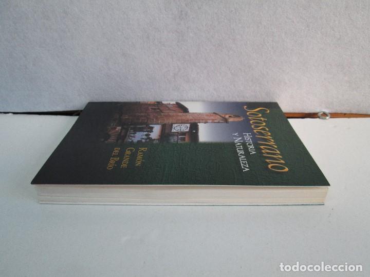 Libros de segunda mano: SOTOSERRANO: HISTORIA Y NATURALEZA. RAMON GRANDE DEL BRIO. - Foto 4 - 71052217