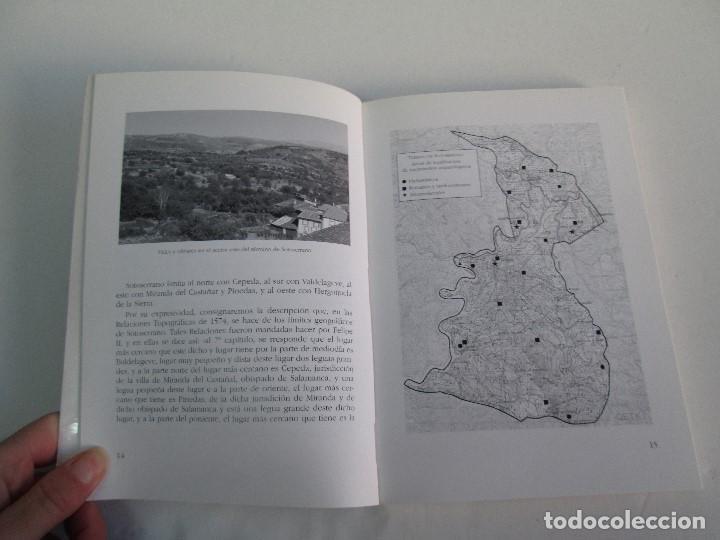 Libros de segunda mano: SOTOSERRANO: HISTORIA Y NATURALEZA. RAMON GRANDE DEL BRIO. - Foto 8 - 71052217