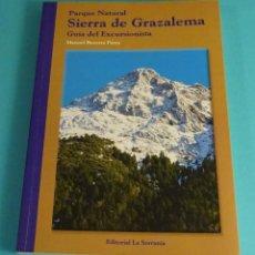 Libros de segunda mano: PARQUE NATURAL SIERRA DE GRAZALEMA. GUÍA DEL EXCURSIONISTA. MANUEL BEVERRA PARRA. Lote 71471083