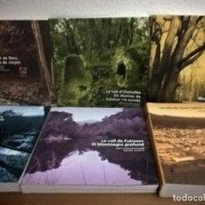 Libros de segunda mano: SANT CELONI MONTNEGRE NATURA I SOCIETAT. 6 VOLUMS, NUEVOS.. Lote 71616227