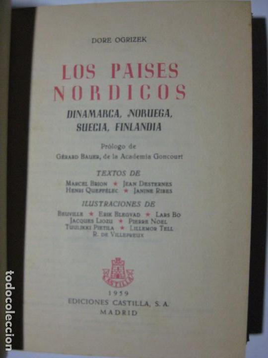 Libros de segunda mano: LOS PAÍSES NÓRDICOS - DORÉ OGRIZEK - EDICIONES CASTILLA 1959 - DINAMARCA NORUEGA SUECIA FINLANDIA - Foto 3 - 71789295