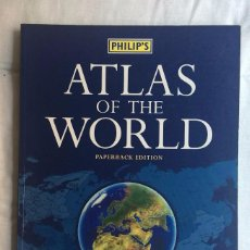 Libros de segunda mano: ATLAS OF THE WORLD - PAPERBACK EDITION IN ASSOCIATION WITH THE ROYAL GEOGRAPHICAL SOCIETY. Lote 72361291