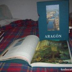 Libros de segunda mano: ARAGÓN. ANTÓN CASTRO. 2001. INCLUYE ESTUCHE. HISTORIA, ARQUITECTURA, ARTE, LITERATURA.... Lote 73006279
