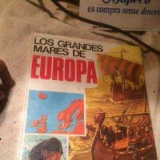 Libros de segunda mano: ANTIGUO LIBRO LOS GRANDES MARES DE EUROPA ENCICLOPEDIA GEOGRAFICA EDITORIAL AFHA 1979. Lote 73497079