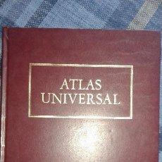 Libros de segunda mano: ATLAS UNIVERSAL ENCUADERNADO EN CUERO DE SARRIO PAPELERA DE LEIZA. Lote 63553200
