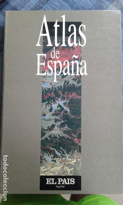 ATLAS DE ESPAÑA (Libros de Segunda Mano - Geografía y Viajes)