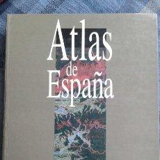Libros de segunda mano: ATLAS DE ESPAÑA. Lote 63554272