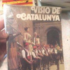 Libros de segunda mano: ANTIGUO LIBRO VISIO DE CATALUNYA AÑO 1973 . Lote 73848343