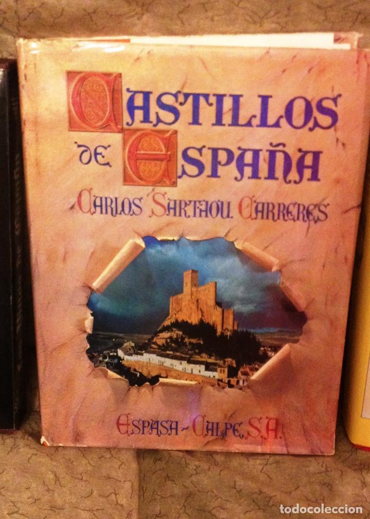 CASTILLOS DE ESPAÑA- TAPA DURA- ESPASA CALPE. CARLOS SARTHOU (Libros de Segunda Mano - Geografía y Viajes)