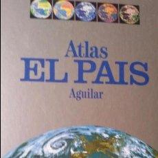 Libros de segunda mano: ATLAS. EL PAÍS AGUILAR. Lote 75020383