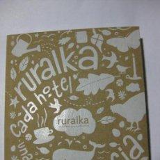 Libros de segunda mano - RURALKA - CADA HOTEL UNA EXPERIENCIA - EDITORIAL EVEREST - 2011 - 75023235