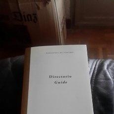 Libros de segunda mano: GUIA DE PARADORES. Lote 75037147
