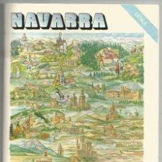 Libros de segunda mano: NAVARRA, HISTORIA, ARTE, COSTUMBRES, TURISMO, CON MAPA - AÑO 1987 - 15X22 CM. Lote 76586483