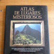 Libros de segunda mano: ATLAS DE LUGARES MISTERIOSOS, WESTWOOD, JENNIFER EDITORIAL: EDITORIAL DEBATE. Lote 77811853