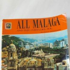 Libros de segunda mano: ANTIGUO: ALL MALAGA AND THE COSTA DEL SOL. LA CORACHA. CRISTO DE LA BUENA MUERTE. Lote 77876442