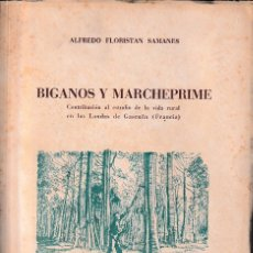Libros de segunda mano: BIGANOS Y MARCHEPRIME (A. FLORISTÁN, 1951) SIN USAR. Lote 79942213