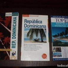 Libros de segunda mano: LIBRO GUIA DE VIAJE, REPUBLICA DOMINICANA TOP 3 GUIAS. Lote 26778378