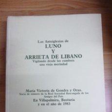 Libros de segunda mano: 3 VOLUMENES SOBRE MUNDAKA Y PEDERNALES FORUA Y MURUETA Y LUNO Y ARRIETA DE LIBANO VICTORIA GONDRA . Lote 81114696