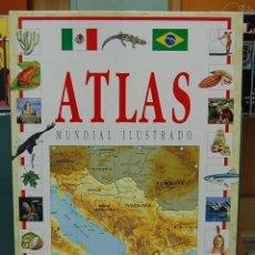 Libros de segunda mano: ATLAS MUNDIAL ILUSTRADO. EDITORIAL EDELVIVES 1994. Lote 82568740