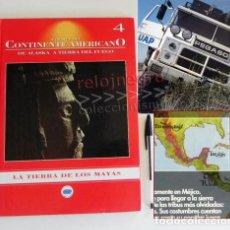 Libros de segunda mano: A TRAVÉS DEL CONTINENTE AMERICANO ALASKA A TIERRA DE FUEGO LIBRO VIAJE AVENTURA PEGASO MAYAS MÉJICO. Lote 82675420