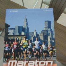Libros de segunda mano: MARATON DE NUEVA YORK GUIA PRACTICA PARA EL CORREDOR RAFA VEGA. Lote 83087244