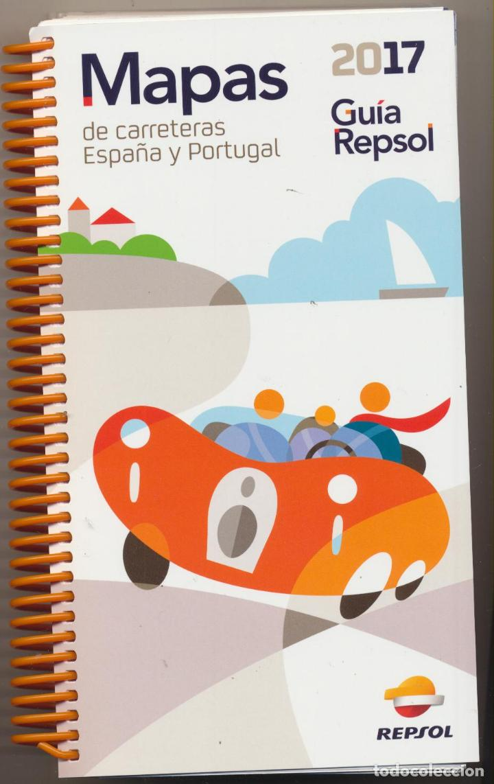 Guia Repsol 2017 Mapas De Carreteras Espana Y Sold Through