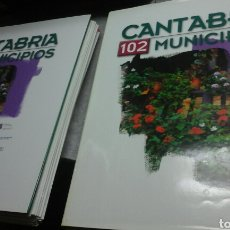 Libros de segunda mano: CANTABRIA 102 MUNICIPIOS.2 TOMOS.COMPLETA.SIN ENCUADERNAR.. Lote 83578035