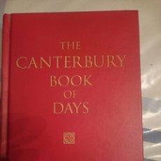 Libros de segunda mano: THE CANTERBURY BOOK OF DAYS - CRAMPTON, PAUL -REFMENOEN. Lote 84469012