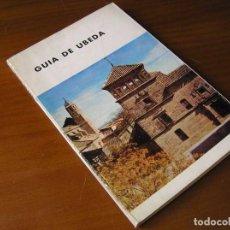 Libros de segunda mano: GUIA DE UBEDA 1965 MINISTERIO DE EDUCACIÓN NACIONAL. DIRECCIÓN GENERAL DE BELLAS ARTES.. Lote 84579104