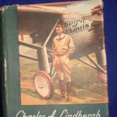 Libros de segunda mano: EL ÁGUILA SOLITARIA CHARLES A. LINDBERGH 1954. Lote 85084212