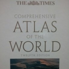 Libros de segunda mano: ATLAS - THE TIMES COMPREHENSIVE ATLAS OF THE WORLD- 12TH EDITION.2007 REPRINTED 2008. Lote 85360422