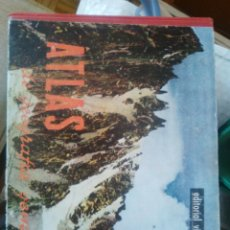 Libros de segunda mano: ANTIGUO ATLAS DE GEOGRAFIA GENERAL. Lote 86299584