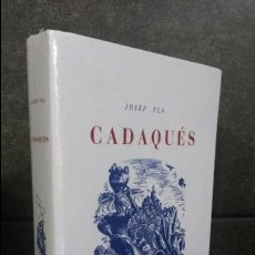 Libros de segunda mano: JOSEP PLA.CADAQUES.EDITORIAL JOVENTUT.BARCELONA.EN CATALÀ.. Lote 194777448