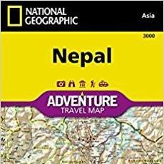 Gebrauchte Bücher - Mapa Nepal National Geographic Waterproof Tear Resistant Mapa – Mapa doblado 1:625,000 - 86697276
