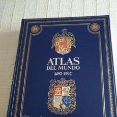Libros de segunda mano: ATLAS DEL MUNDO 1492-1992 CARTOGRAFIA ANTIGUA Y ACTUAL CLUB INTERNACIONAL DEL LIBRO. Lote 86875328