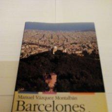 Libros de segunda mano: BARCELONES. Lote 88914199
