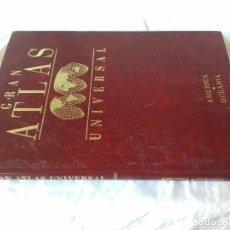 Libros de segunda mano: GRAN ATLAS UNIVERSAL SALVAT-AMERICA OCEANIA. Lote 88960128