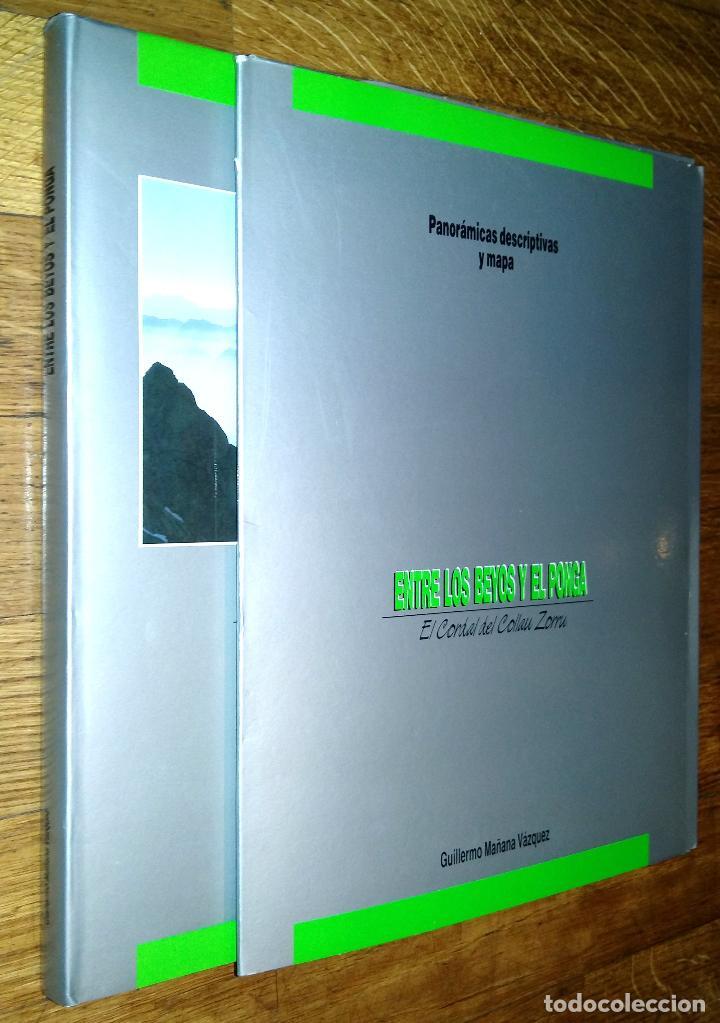 ENTRE LOS BEYOS Y EL PONGA EL CORDAL DEL COLLAU ZORRU / GUILLERMO MAÑANA VAZQUEZ (Libros de Segunda Mano - Geografía y Viajes)