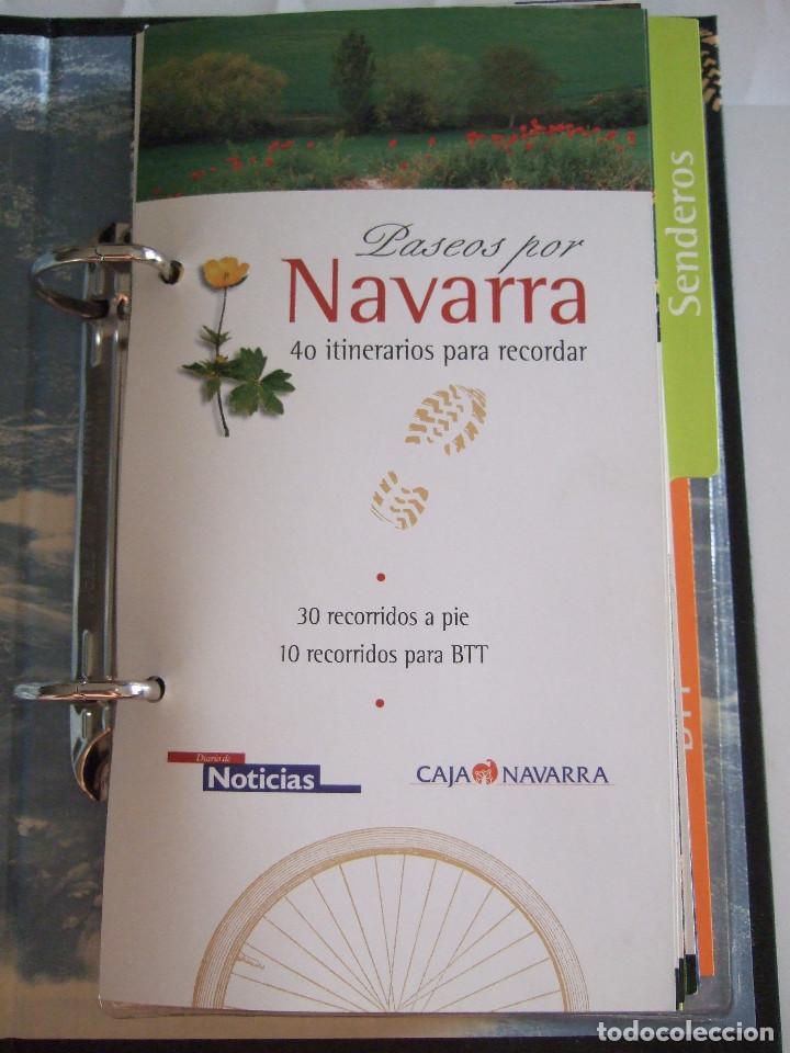 Libros de segunda mano: PASEOS POR NAVARRA - 40 ITINERARIOS PARA RECORDAR - 30 RECORRIDOS A PIE Y 10 PARA BICICLETA - 2000 - - Foto 4 - 91010325