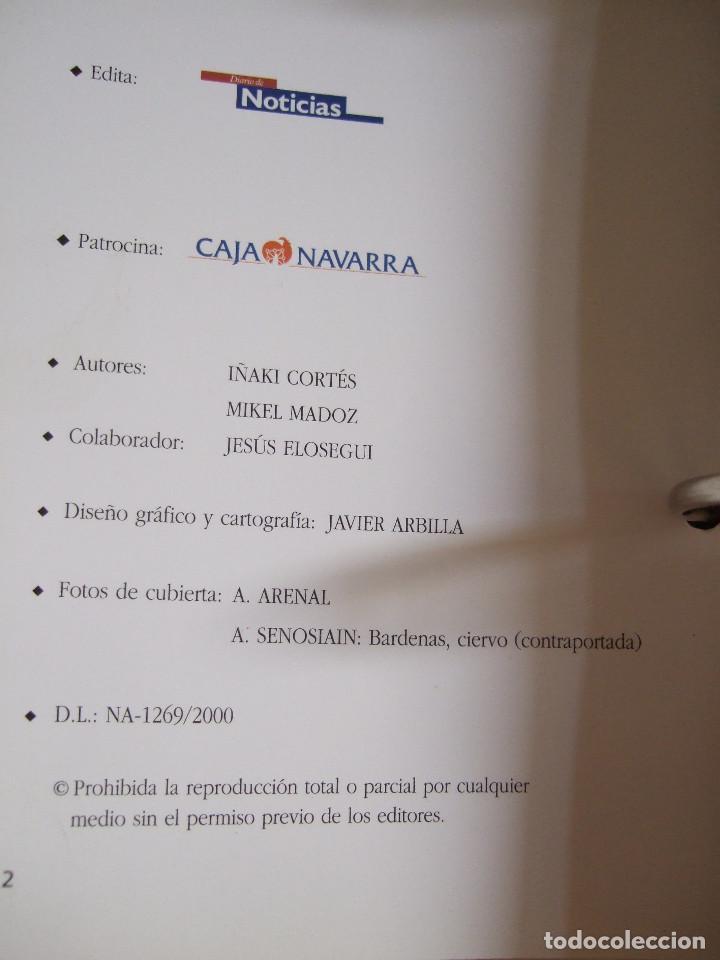 Libros de segunda mano: PASEOS POR NAVARRA - 40 ITINERARIOS PARA RECORDAR - 30 RECORRIDOS A PIE Y 10 PARA BICICLETA - 2000 - - Foto 5 - 91010325