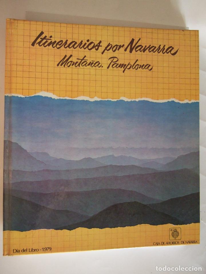 ITINERARIOS POR NAVARRA - MONTAÑA PAMPLONA - 1979 SALVAT - 198 PAGINAS - TAPAS DURAS (Libros de Segunda Mano - Geografía y Viajes)