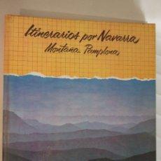 Libros de segunda mano: ITINERARIOS POR NAVARRA - MONTAÑA PAMPLONA - 1979 SALVAT - 198 PAGINAS - TAPAS DURAS. Lote 91011230
