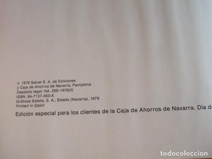 Libros de segunda mano: ITINERARIOS POR NAVARRA - MONTAÑA PAMPLONA - 1979 SALVAT - 198 PAGINAS - TAPAS DURAS - Foto 2 - 91011230