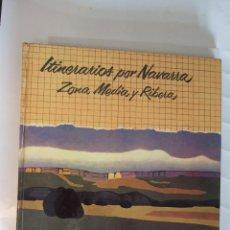 Libros de segunda mano: ITINERARIOS POR NAVARRA - ZONA MEDIA Y RIBERA - 1978 SALVAT - 166 PAGINAS - TAPAS DURAS. Lote 91011665
